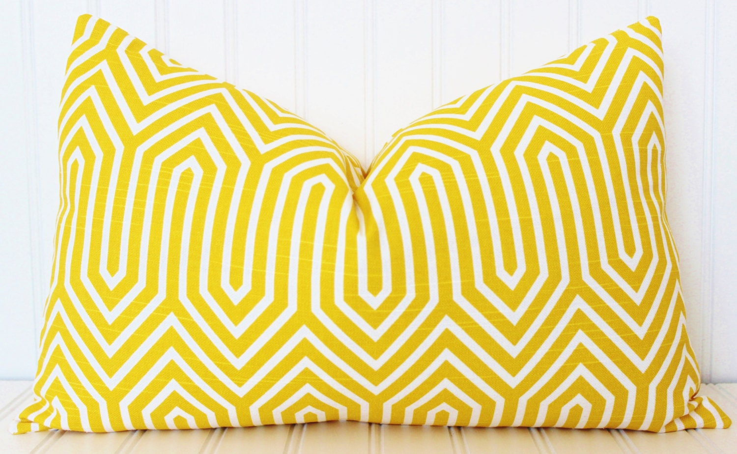 Yellow Pillow Throw Pillow Decorative Pillow Cover Yellow