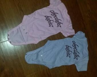 Newborn, soft pink / lavender