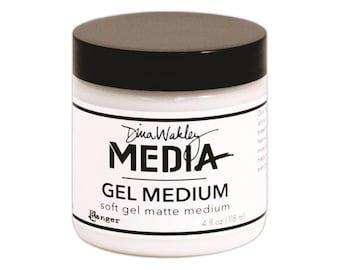 Dina Wakley Media Gel Medium 4oz Jar Ranger
