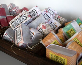 Guest Soap Bars / Shea Butter Soaps Select your Scent / Travel Soaps