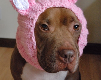 Dog Snood Pink Cat MADE TO ORDER
