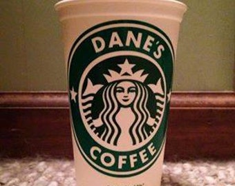 Personalized Starbuck Cup