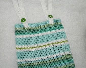 Beach tote/ crochet beach bag/ purse tote