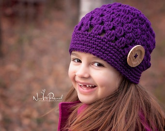 Crochet Patterns - Slouchy Hat Pattern - Crochet Hat Pattern - Crochet Patterns for Children - Baby, Toddler, Childs, Kids, Adult - PDF 284
