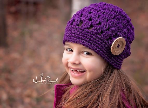 Crochet Patterns - Slouchy Hat Pattern - Crochet Hat Pattern - Crochet Patterns for Children - Baby, Toddler, Childs, Kids, Adult - PDF 284