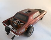 Scale Model Cougar Car by Classicwrecks in Red