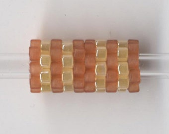 Woven Glass Bead Tube ... ... ... ... 6mm/o-2mm/i ... ... ... ... ... 10x08 * 348