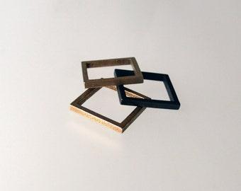 Slim Square Ring