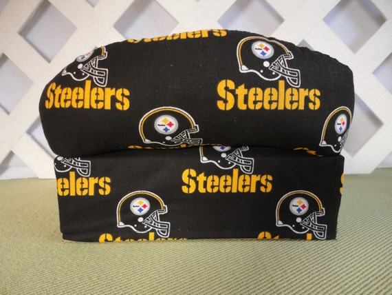 Pittsburgh Steelers Tissue Box Cover In Sofa By