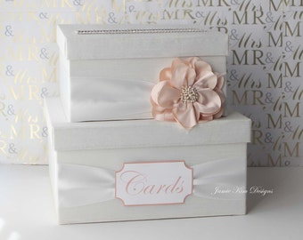 Wedding Card Box Wedding Money Box Gift Card Box - Custom Made