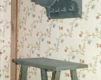 Kitchen Set (2 pieces), miniature, dollhouse