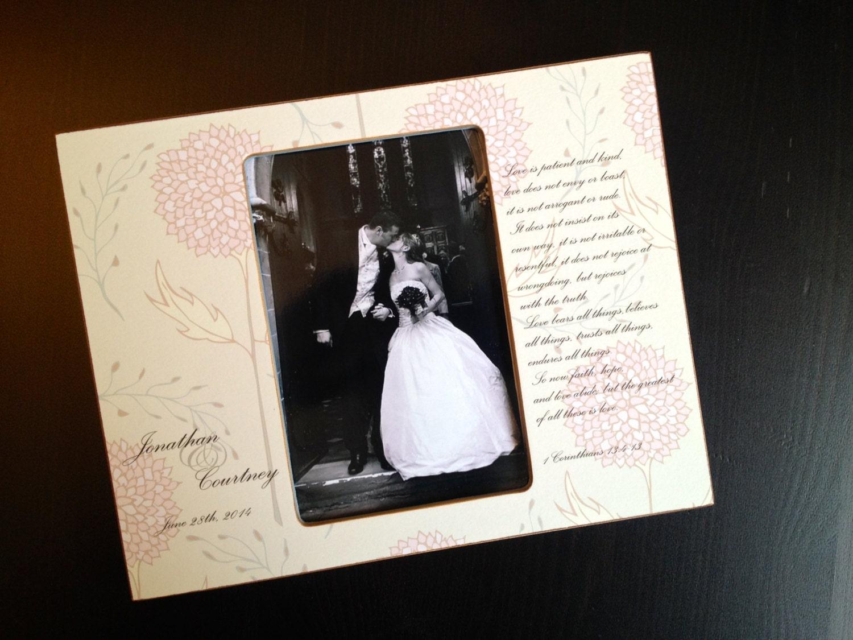 Wedding Gift Ideas Religious : Wedding Gift Religious Wedding Gift Bible Verse Wood 4x6