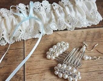 Bridal Hair Combs - Luna Collection - Hair Combs - Handbeaded Hair Combs - Bridal Comb - Bridesmaid Hair Accessories - Bridal Hair Comb UK