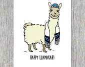 Happy Llamakah  - One Holiday/Hanukkah Card