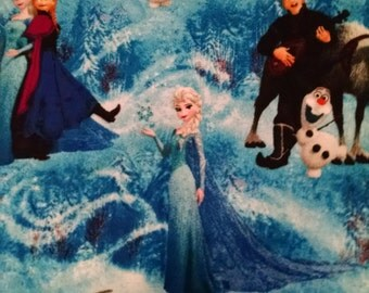 Disney Frozen Baby/Toddler fitted sheet with standard pillowcase