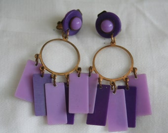 Purely Purple Earrings