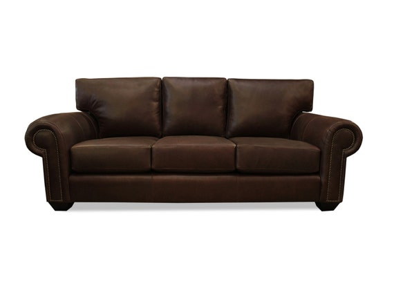 Oxford Leather Sofa By Southcone On Etsy