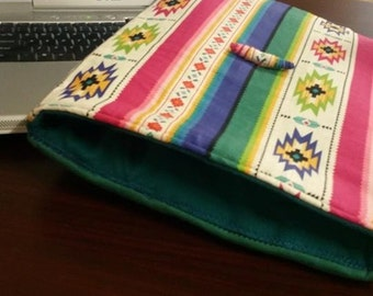 Colorful Southwest Print Laptop Sleeve