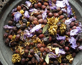 Lemon & Lavender Potpourri -  primitive bowl fillers with refresher oil