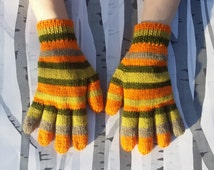Coraline Gloves Hand Knitted Made To Order Unisex Adult & Child Sizes