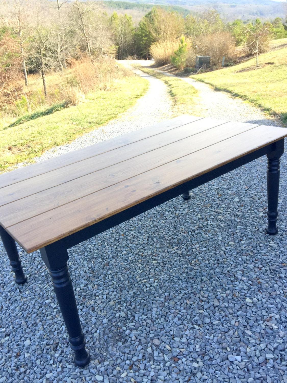 Black Farm Table Rustic Farm Table Distressed by KKFurniture : ilfullxfull714648465e0p5 from etsy.com size 1125 x 1500 jpeg 550kB