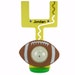Personalized Big Belly Bank Oversized Football Bank - large goal post coin bank
