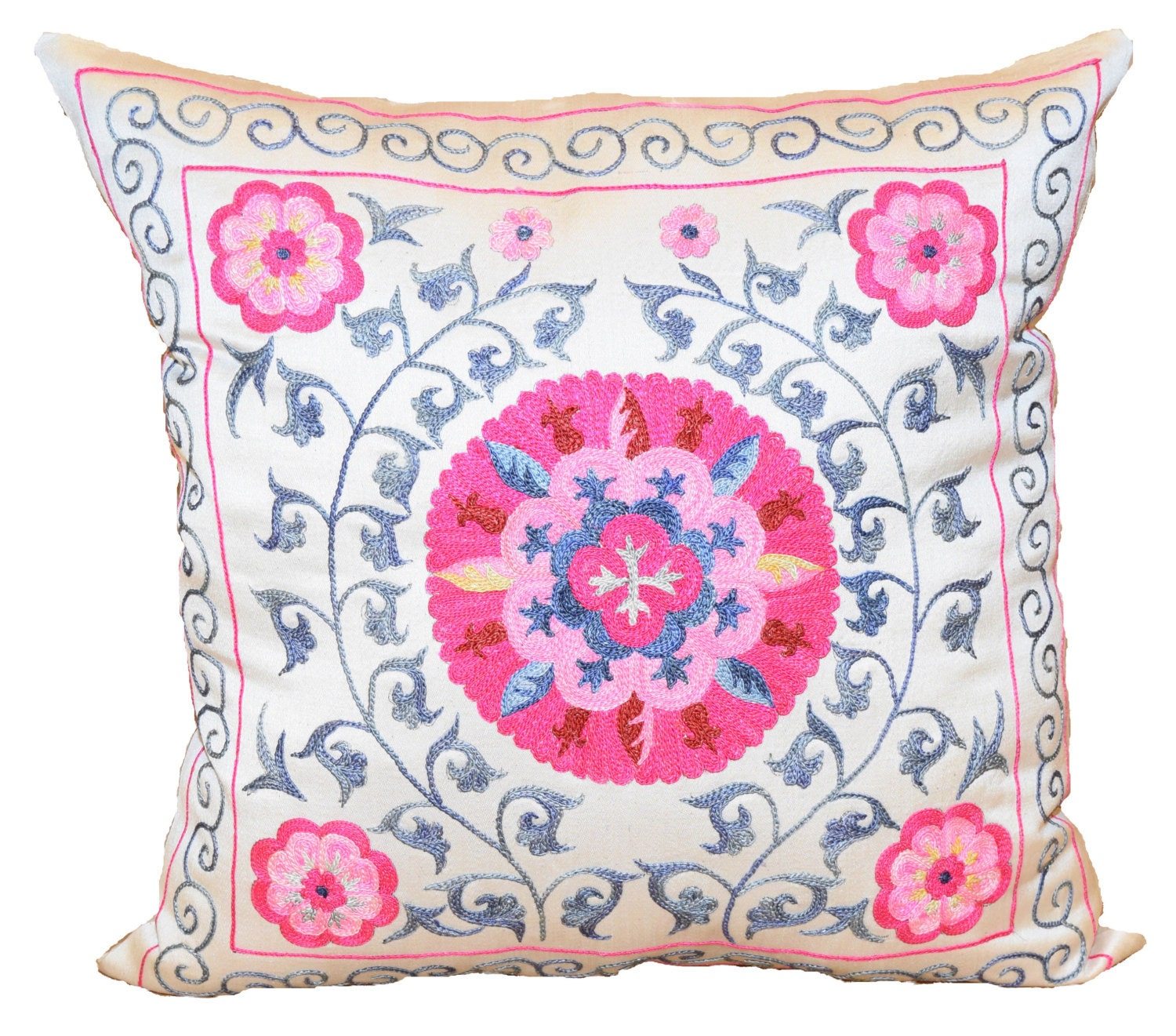 suzani pillow covers