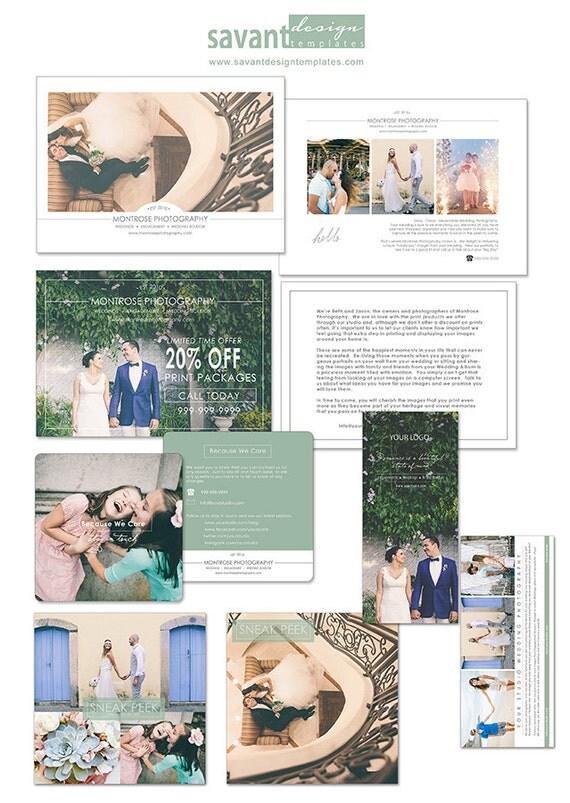 Items similar to wedding photography marketing templates for Marketing templates for photographers