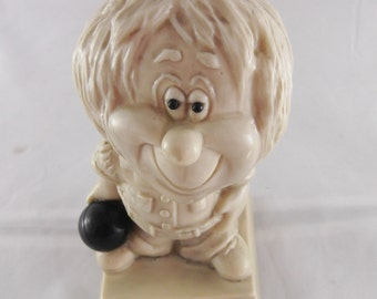 Russ Berries Old Bowlers Never Die They Just Don't Score As Much 1971 Russ Berries Collectible Figurine