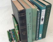 Green Book Bundle - Home Decor - Shabby Books