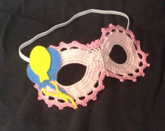 My Little Pony-Inspired Lace Masquerade Mask