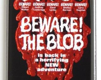 Beware the Blob Movie Poster Fridge Magnet
