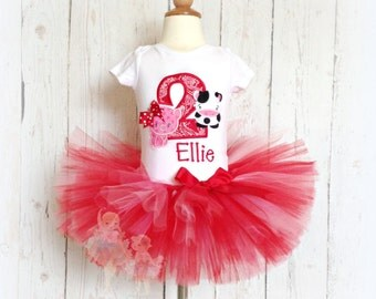 Farm birthday outfit - Pig and Cow tutu outfit - farm tutu outfit - 1st birthday outfit - farm themed outfit - barnyard themed outfit
