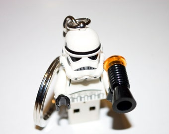 128GB Stormtrooper USB Flash Drive with Keychain