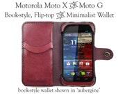 Leather Motorola Moto X W...