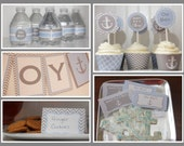Nautical Boy Baby Shower- INSTANT Pack, Instant Download