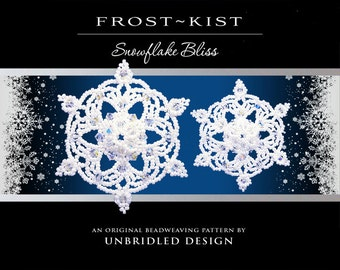 Frost~Kist Beaded Snowflake pdf tutorial