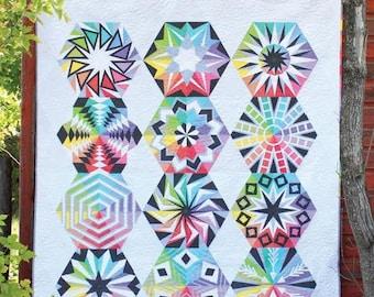 Sassafras Lane Designs - Arcadia Avenue - Block of the Month Quilt Pattern Book