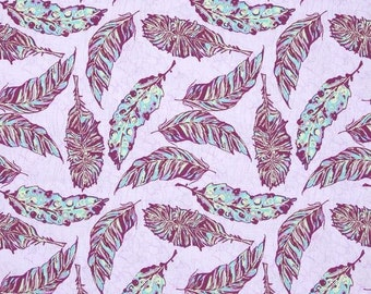 Free Spirit - Feather Flock by Tina Givens - Feathers - Lilac