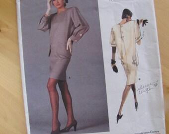 Uncut Vintage Vogue Sewing Pattern 2012 - Yves Saint Laurent - Misses Dress - Size 10