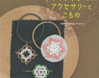 Tatting Lace,PDF Ebook, Japanese Book, How To Tatting Lace, Tatting Accessories No.55