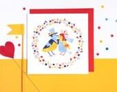 Love Birds! Set of 5 cards