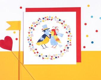 Love Birds! Greeting card or greeting card set