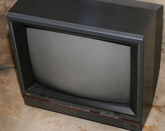 RCA television, RCA model FLR550ER, Vintage Television, Set Design, Old TV,