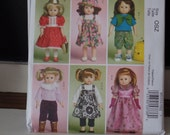 McCalls 5554 18 Inch Doll Clothes