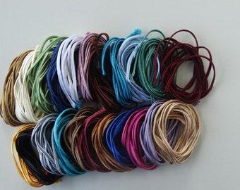 SALE Soutache Braid MINI SET, 20 colors 1 meters each, Passementerie Braid, Soutache cord, Passementerie cord Trim, gimp cord, russian braid
