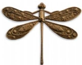 Vintaj 50x39mm Ornate Dragonfly