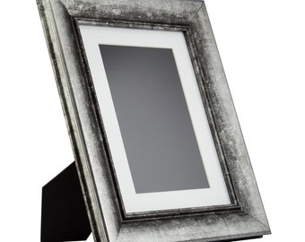 8x10 Picture Frame Vintage Metal Photo Frame Art Deco