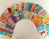 "Mini Scrappy Charm Pack: 50 x 2.5"" squares"