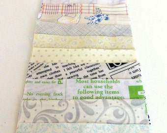 """Low Volume Charm Pack - 42 x 5"""" squares"""